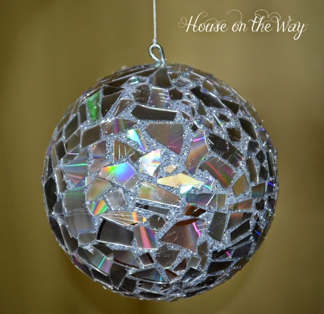 A Broken Mirror Disco Ball Direction From A House On The