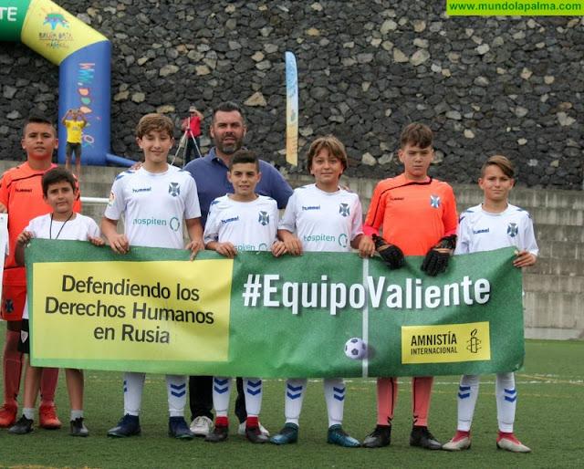 """El club de fútbol """"Unión Breñas"""" se solidariza con los defensores y defensoras de derechos humanos en Rusia"""