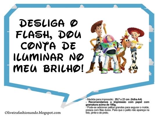 Oliveira Fashionando: Plaquinhas Toy Story para Imprimir