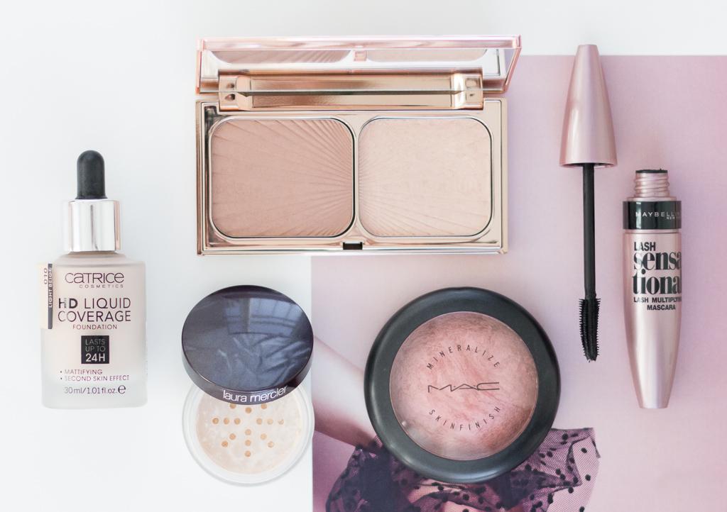 5 Produkte Make-up-Look