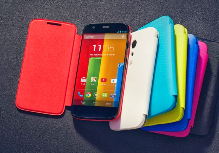 Motorola Moto G launched in India | 16GB model sells @ Rs.13,999