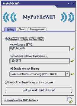 Turn your Windows PC into WiFi HotSpot