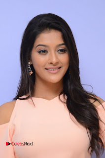 Actress Pooja Jhaveri Pictures in Jeans at Dwaraka Movie First Look Launch  0009