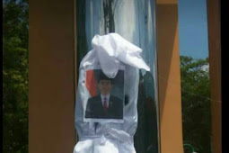 Miris! Mahasiswa Bakar Poto Presiden Joko Widodo