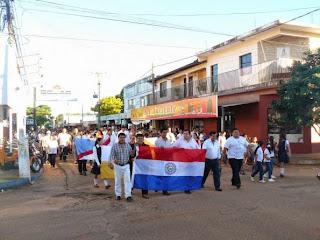Resultado de imagen para En Horqueta marchan hoy por los cautivos