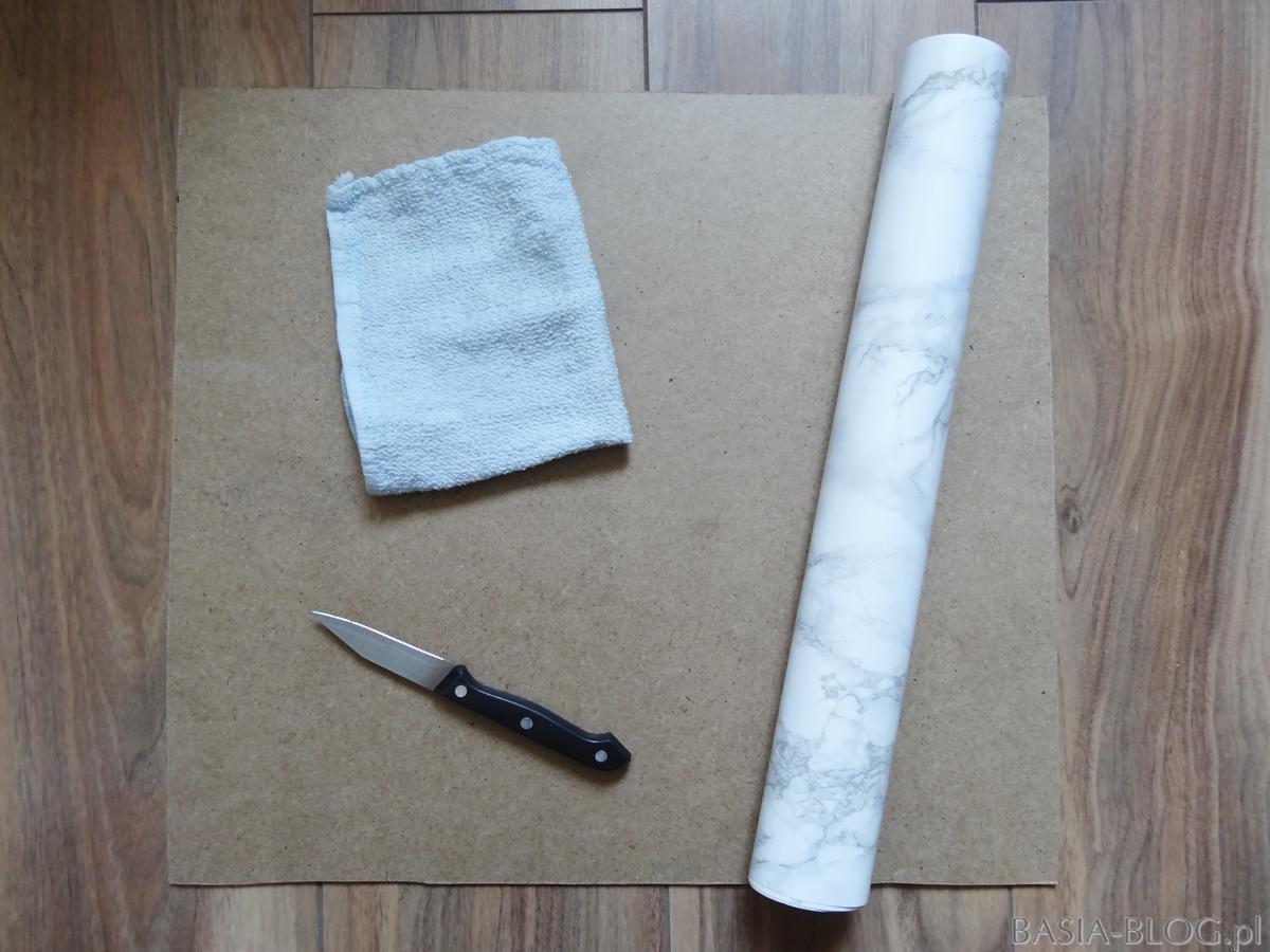 DIY marmurowe tło do zdjęć (i nie tylko!)