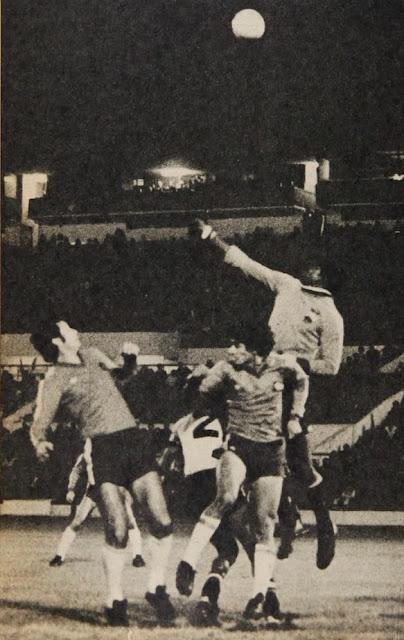 Chile y Ecuador en partido amistoso, 13 de junio de 1979