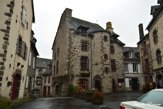 Village de Salers en Auvergne, Cantal