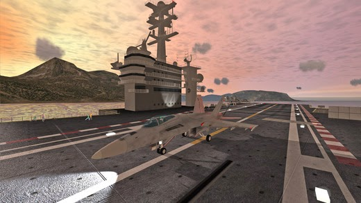 -GAME-F18 Carrier Landing II