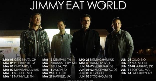 Jimmy Eat World Tour Dates