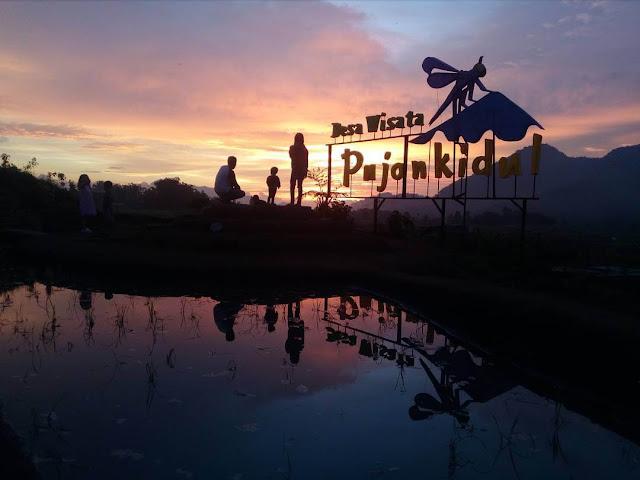 sunrise di desa wisata pujon kidul malang