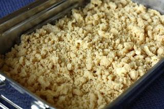 Priprema kolača od borovnica