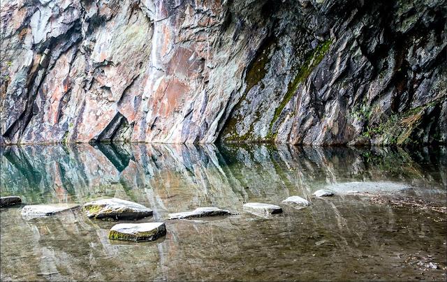 Rydal caves - Lake District