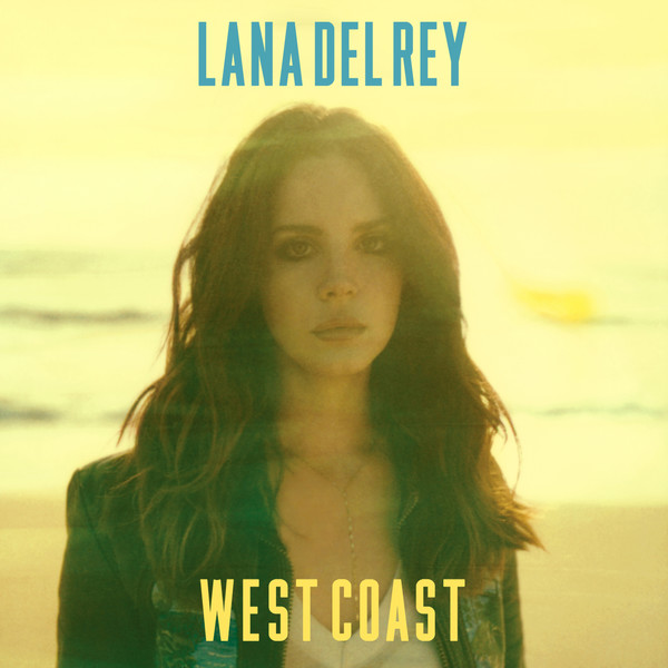 Lana Del Rey - West Coast - Single Cover