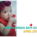 KASIH SERTAI CONTEST BABY COMEL APRIL 2018