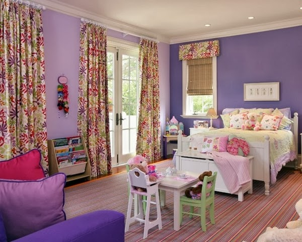 cuarto juvenil lila