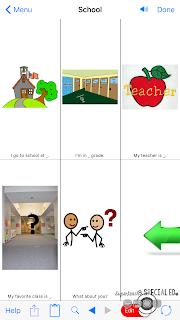 www.specialedspot.com Communication App