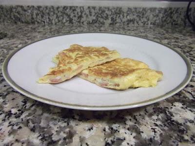 Tortilla de bacon