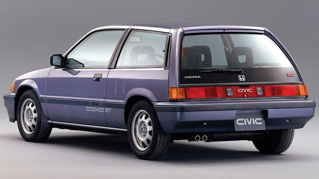 1984-1987 Honda Civic 3rd Gen Si Hatchback