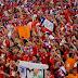 Chile arriesga dura sanción por cánticos de hinchas