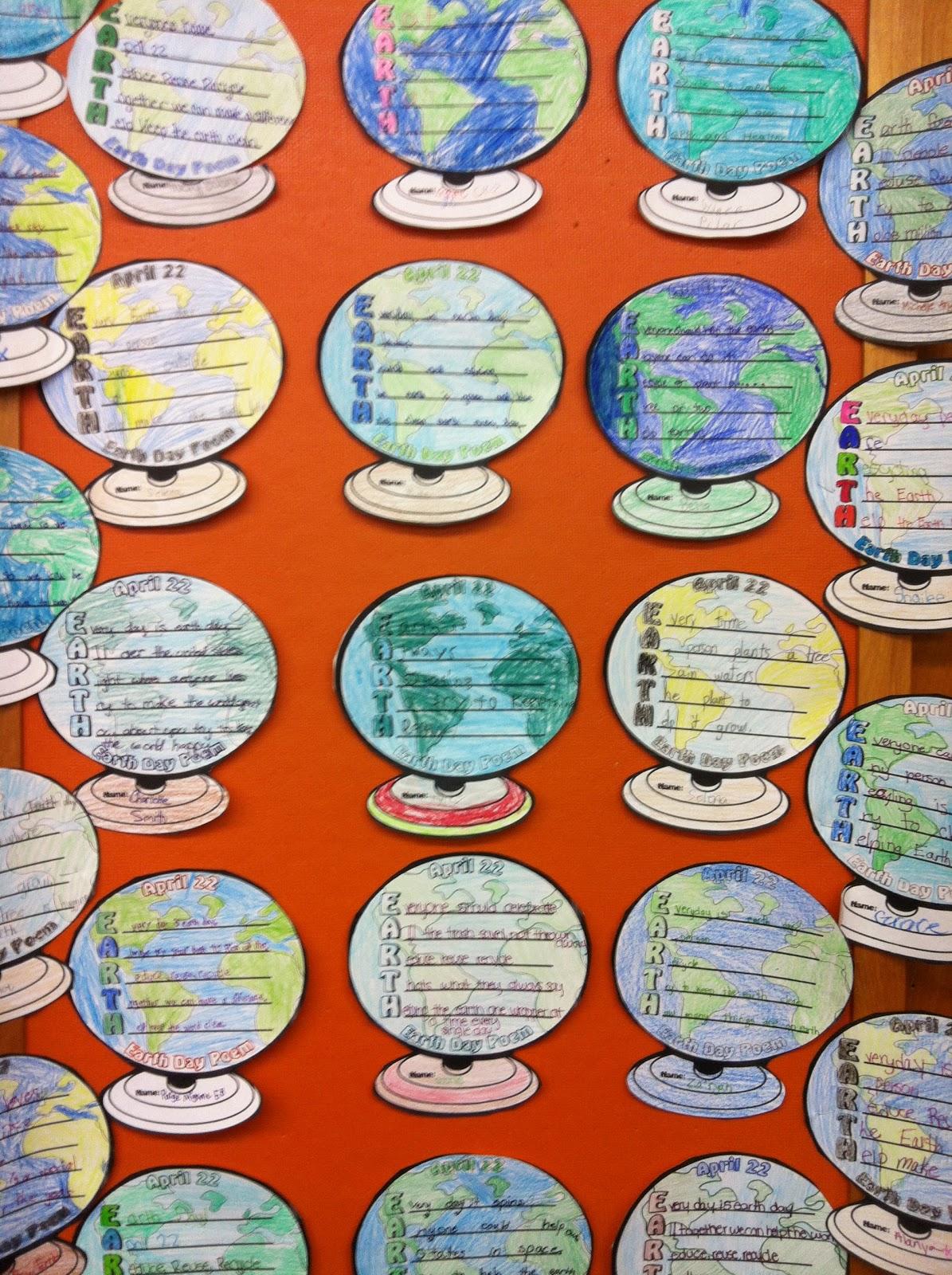 Westhampton Beach Elementary School Library Earth Day