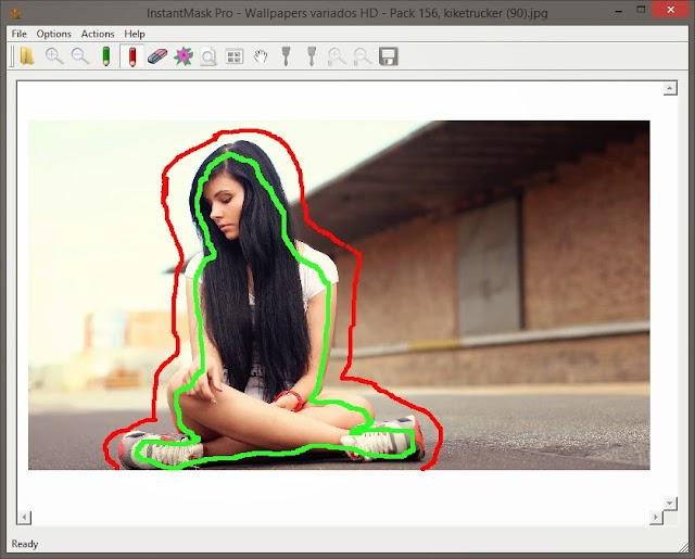 InstantMask Pro 3.0 + Portable | Eliminar fondo de imágenes y dejar transparente
