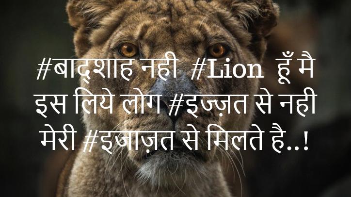 Royal Nawabi Status Attitude Status For Whatsapp In Hindi