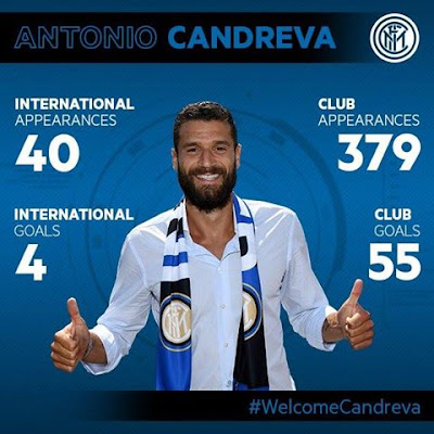Candreva al Inter de Milán
