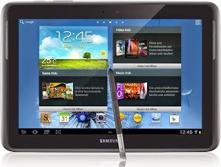 Spesifikasi dan Harga Samsung Galaxy Note 10.1 GT-N8000 Terbaru