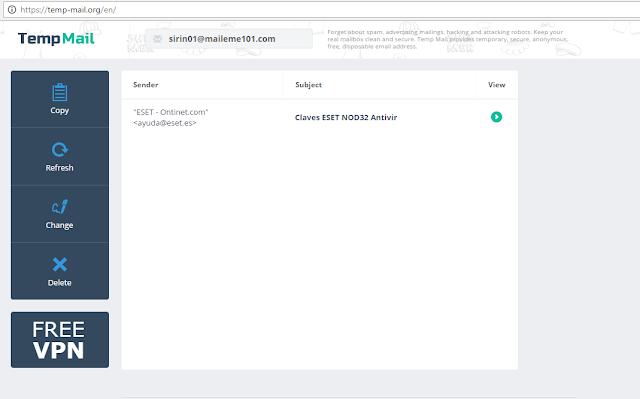 Cara Mendapatkan Serial Number Antivirus Eset Gratis 2