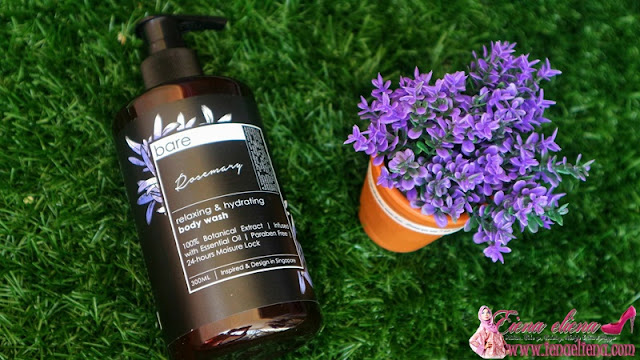 Bare For Bare Body Wash In Rosemary