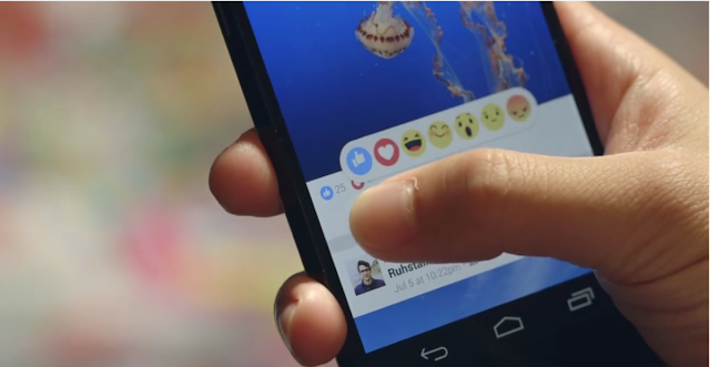 Facebook's New Reactions