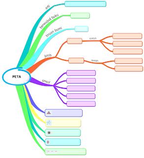 contoh mind mapping materi peta