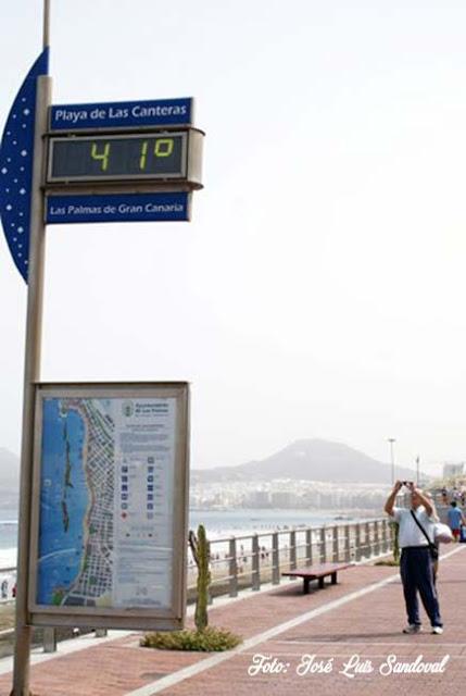 Dos días de riesgo importante por altas temperaturas, Gran Canaria, Fuerteventura y Lanzarote