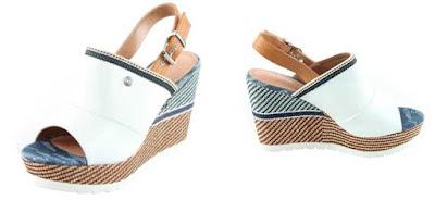 sandalias de cuna blancas