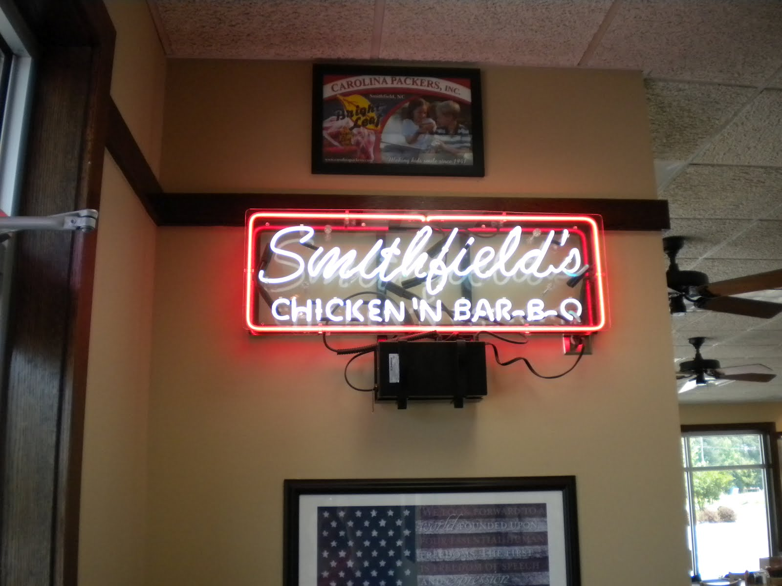 amy on food charlotte and worldwide food and family travel smithfield s chicken n bar b q rockingham nc amy on food blogger
