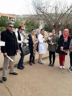 ثانوية الفارابي التأهيلية بأولاد عياد تحتفل باليوم العالمي للمرأة