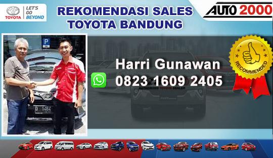 Rekomendasi Sales Toyota Bandung
