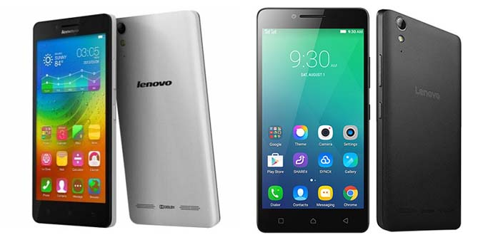 HP Android Quad Core - Lenovo A6000