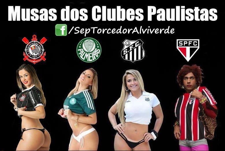 Musas Dos Clubes Paulistas