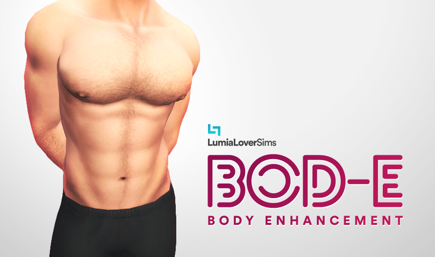 Sims 4 CCs - The Best: Male Skin Details by LumiaLoverSims