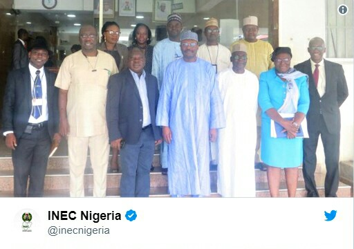 INEC Constitutes Committee To Plan The 2019 General Elections