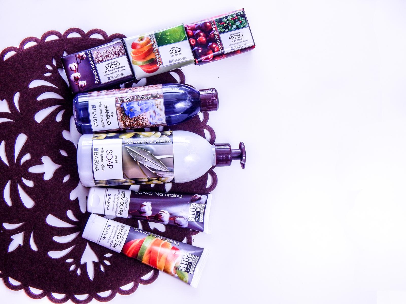 1_barwa naturalna kosmetyki mydła recenzja barwa mydło naturalne szampon naturalny mydło w płynie owoce natura hipoalergiczne kremy do rąk