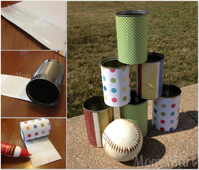 How to make a Circus/Carnival Tin Can Toss Game