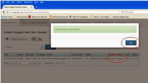 Tips Triks Langkah Register Upload Artikel Karil Ut