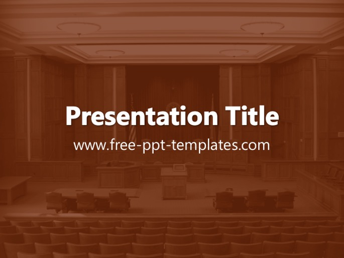 legal ppt template, Modern powerpoint