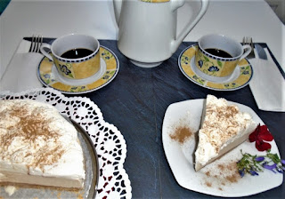 Tarta mousse de Capuchino