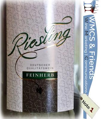 Riesling feinherb 2014/2015