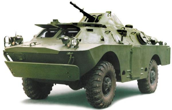 BRDM-2 Veículo ligeiro de reconhecimento (GAZ)