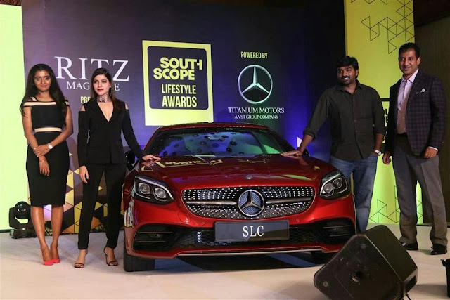 Samantha, Vijay Sethupathi at Ritz Southscope Lifestyle Awards 2016 Photos